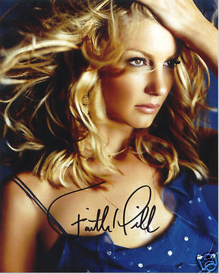 Faith Hill Autograph Signed Pp Photo Poster