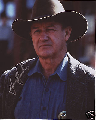 Gene Hackman Autograph Signed Pp Photo Poster