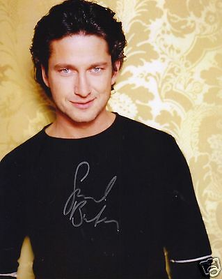 Gerard Butler Autograph Signed Pp Photo Poster