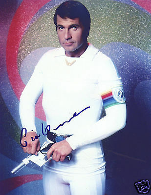 Gil Gerard - Buck Rogers Autograph Signed Pp Photo Poster