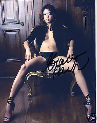 Grace Park Autograph Signed Pp Photo Poster