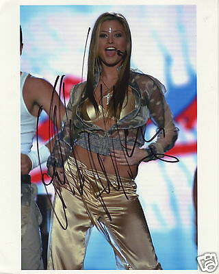 Holly Valance Autograph Signed Pp Photo Poster