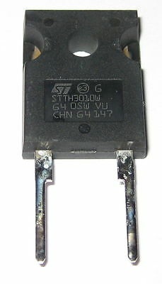 30 Amp - 1000 V Diode - STTH3010W -  TO-247 - 1,000 Volt - 30 A - Tj 175C - 42ns