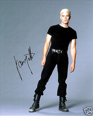 James Marsters Autograph Signed Pp Photo Poster