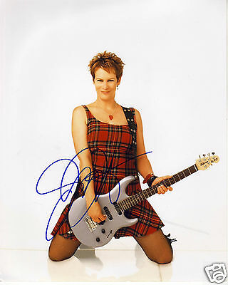 Jamie Lee Curtis Autograph Signed Pp Photo Poster