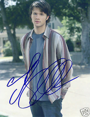Jared Padalecki Autograph Signed Pp Photo Poster