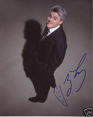 Jay Leno Autograph Signed Pp Photo Poster