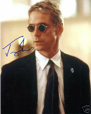 Jeremy Irons Autograph Signed Pp Photo Poster