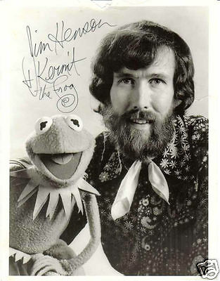 Jim Henson Muppets Autograph Signed Pp Photo Poster