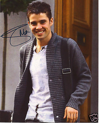 Joe Mcelderry Autograph Signed Pp Photo Poster