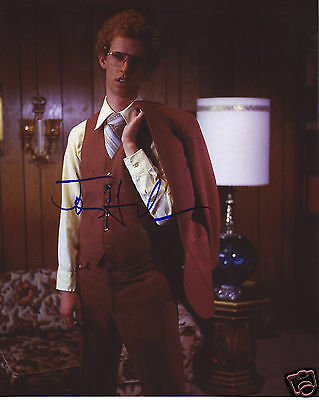 Jon Heder Autograph Signed Pp Photo Poster