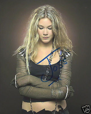 Joss Stone Autograph Signed Pp Photo Poster