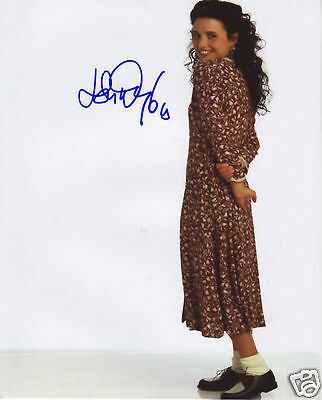 Julia Louis Dreyfuss Autograph Signed Pp Photo Poster
