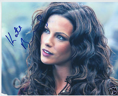 Kate Beckinsale Autograph Signed Pp Photo Poster