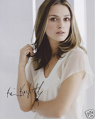 Keira Knightley Autograph Signed Pp Photo Poster 9