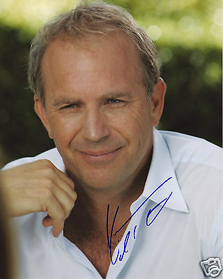 Kevin Costner Autograph Signed Pp Photo Poster 1