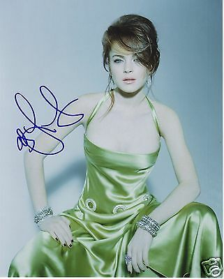 Lindsay Lohan Autograph Signed Pp Photo Poster