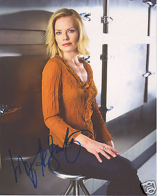 Marg Helgenberger Csi Autograph Signed Pp Photo Poster