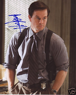 Mark Wahlberg Autograph Signed Pp Photo Poster