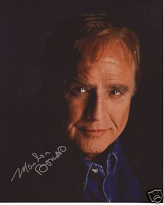 Marlon Brando Autograph Signed Pp Photo Poster