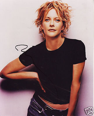 Meg Ryan Autograph Signed Pp Photo Poster