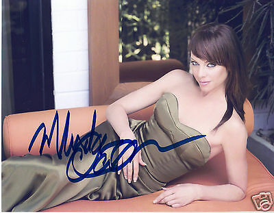 Melinda Clarke Autograph Signed Pp Photo Poster
