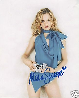 Mena Suvari Autograph Signed Pp Photo Poster 10
