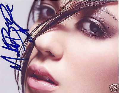 Michelle Branch Autograph Signed Pp Photo Poster