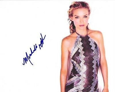Michelle Pfeiffer Autograph Signed Pp Photo Poster