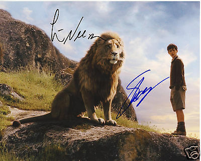 Narnia Cast Autograph Signed Pp Photo Poster