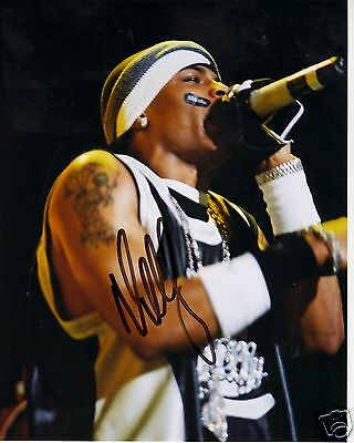 Nelly Autograph Signed Pp Photo Poster