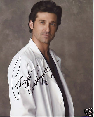 Patrick Dempsey Autograph Signed Pp Photo Poster