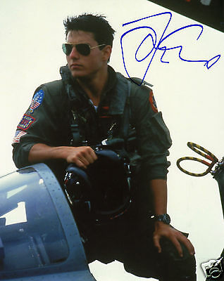 Tom Cruise - Top Gun Autograph Signed Pp Photo Poster