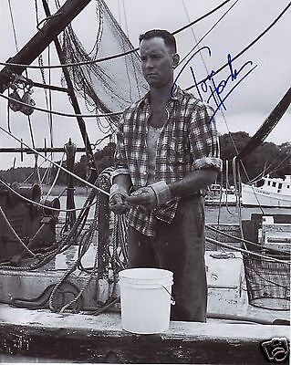 Tom Hanks - Forrest Gump Autograph Signed Pp Photo Poster