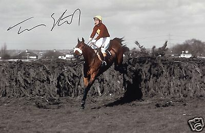 Tommy Stack - Red Rum Autograph Signed Pp Photo Poster