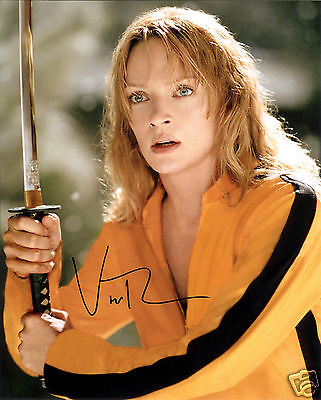 Uma Thurman - Kill Bill Autograph Signed Pp Photo Poster