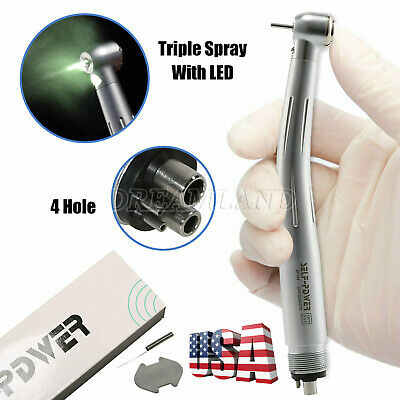 Dental 4 Hole High low Speed Handpiece Turbine Kit Fit NSK Pana Max USA