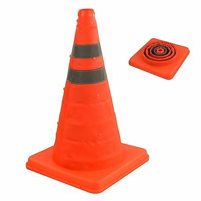 """High Visibility 18"""" Pop Up Safety Cone Portable Traffic Emergency Football Sport"""