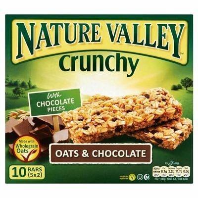 Nature Valley Crunchy Granola Bars - Oats & Chocolate (5x42g)
