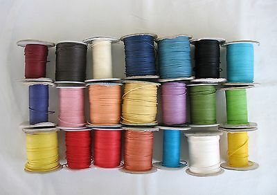 5metres of ROUND WAX COTTON CORD 1mm