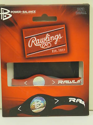 RAWLINGS Silicone Power Balance Technology Bracelet Scarlet Red Large (8.1 in)