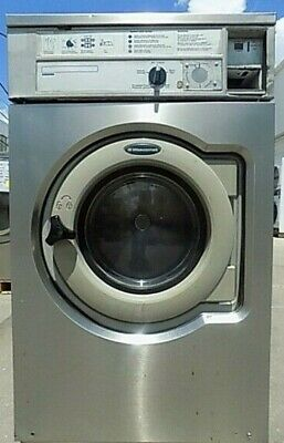 Wascomat W630 Front Load Washer Stainless Steel Front 3ph Refurbished