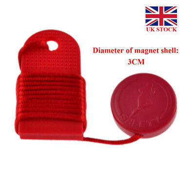 Fitness Lock Red Safety Key Replacement for Magnetic Treadmill Running Machine