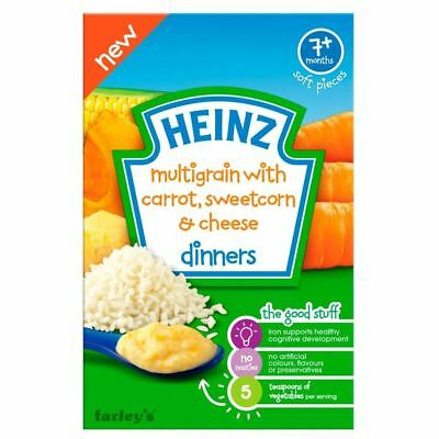 Heinz Multigrain with Carrot, Sweetcorn & Cheese Dinners 7mth+ (100g)