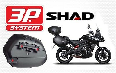 Support valises latérales SHAD 3P SYSTEM KAWASAKI VERSYS 650 2015 new fittings