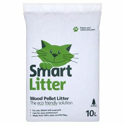 Smart Cat Wood Pellet Litter (10L)