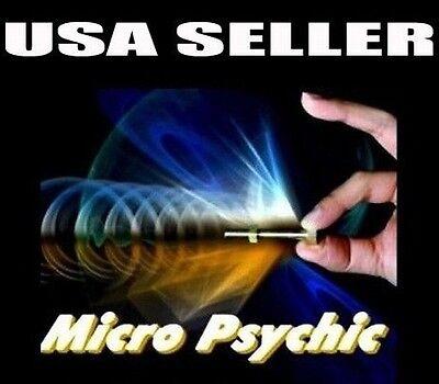 MICRO PSYCHIC w/ EXTRAS NUT BOLT MAGIC TRICK EXTRA BATTERY & GIMMICK USA SELLER