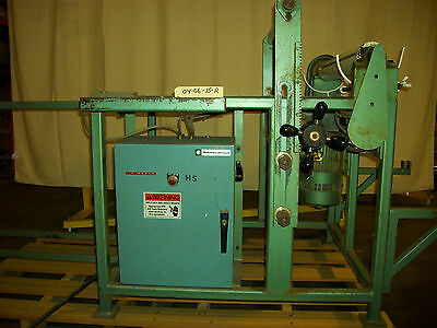 Powered Coiler Winder Feeder 1.5 HP 220v 3 Phase