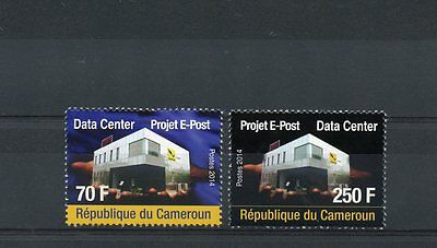 Cameroon 2014 MNH Data Center Project E-Post 2v Set IT Technology