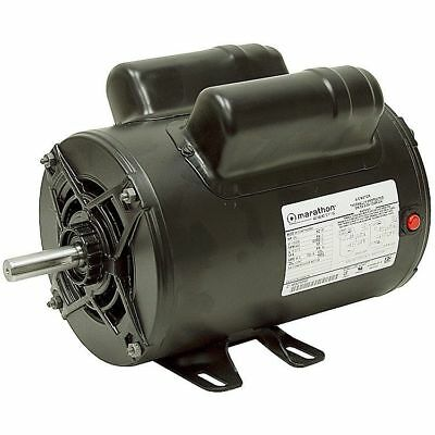 2 Hp  115/230 Volt Ac  3450 Rpm  Marathon Air Compressor Motor  10-2619